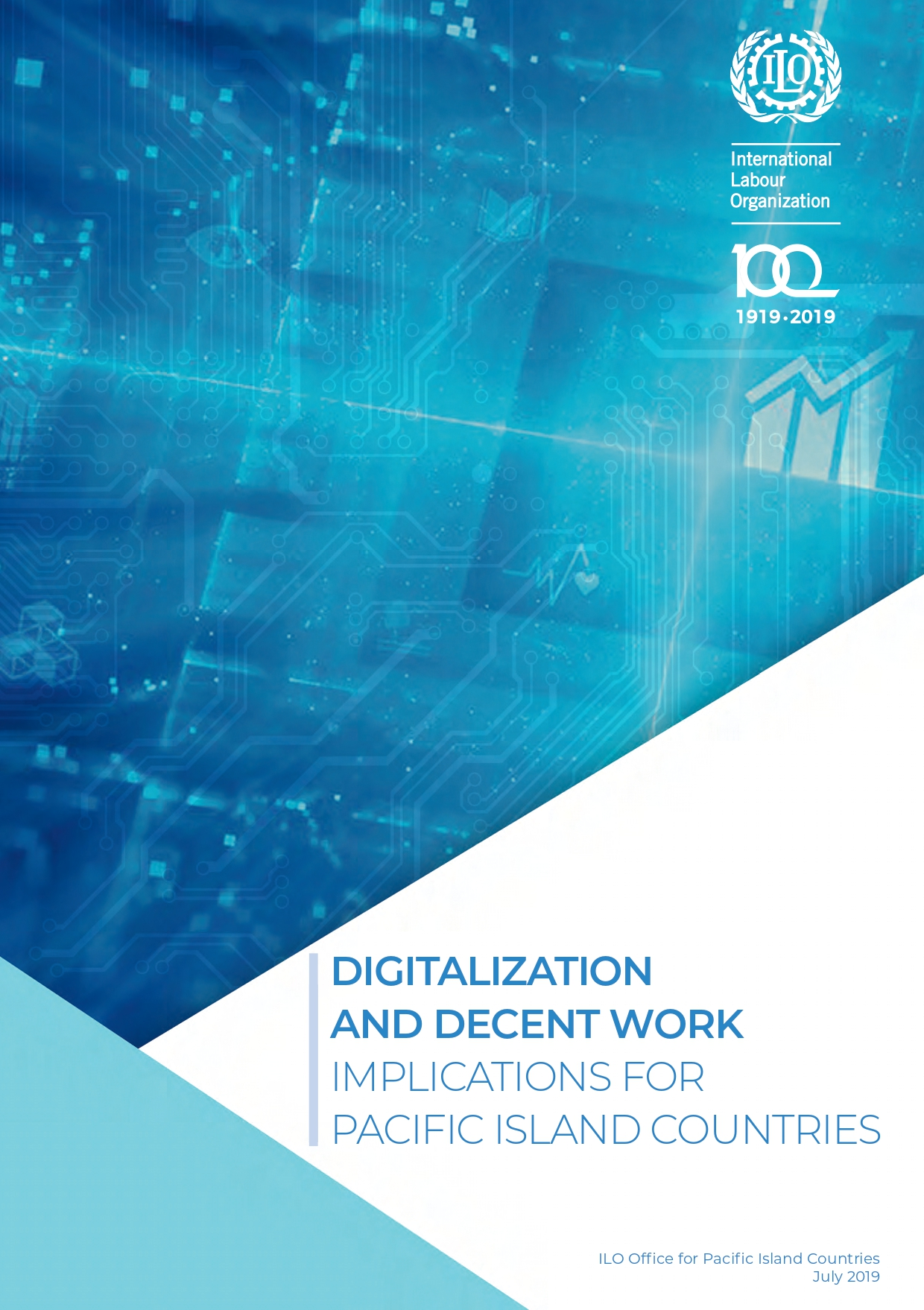 Digitalization and decent work implications for pacific islands countries