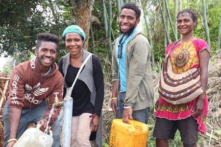IOM Improves Access to Safe Drinking Water in Southern Highlands