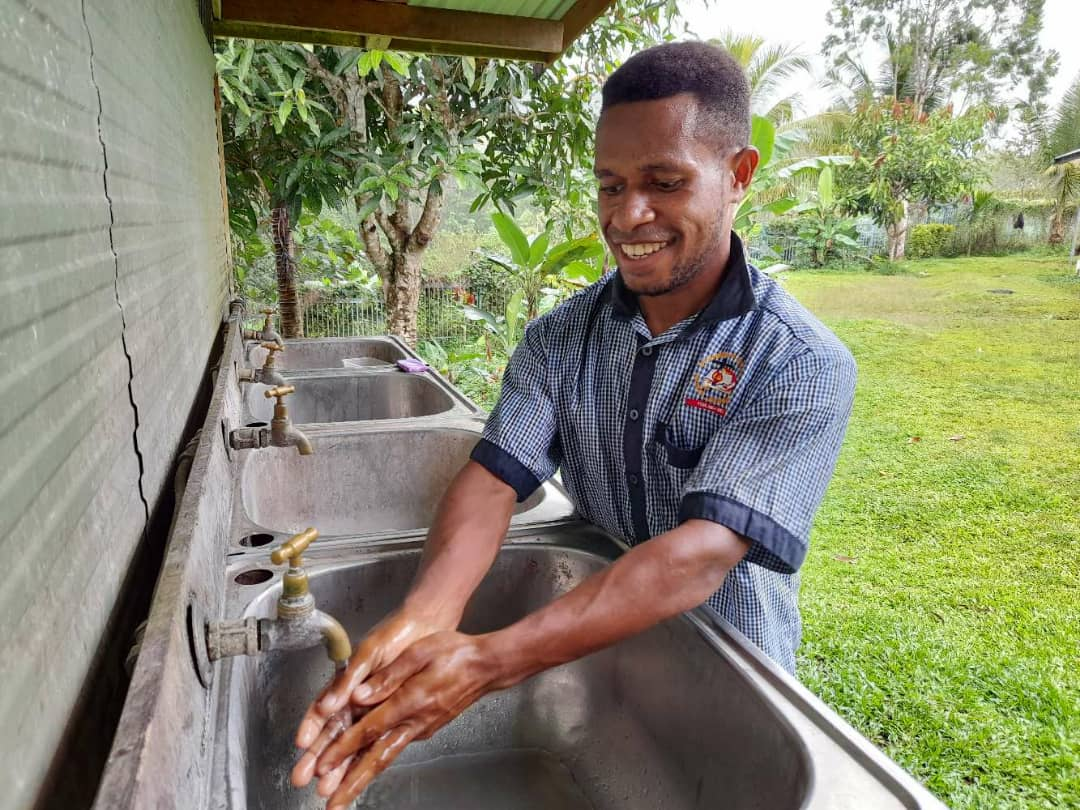 IOM Supports Rehabilitation of Safe Drinking Water Supply System at St. Gabriel Technical Secondary School in Western Province