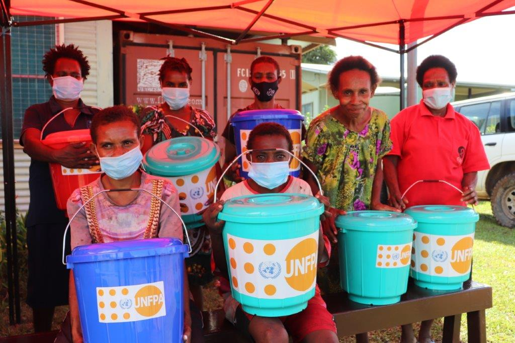 Essential Hygiene Supplies Delivered to Women Living with HIV/AIDS