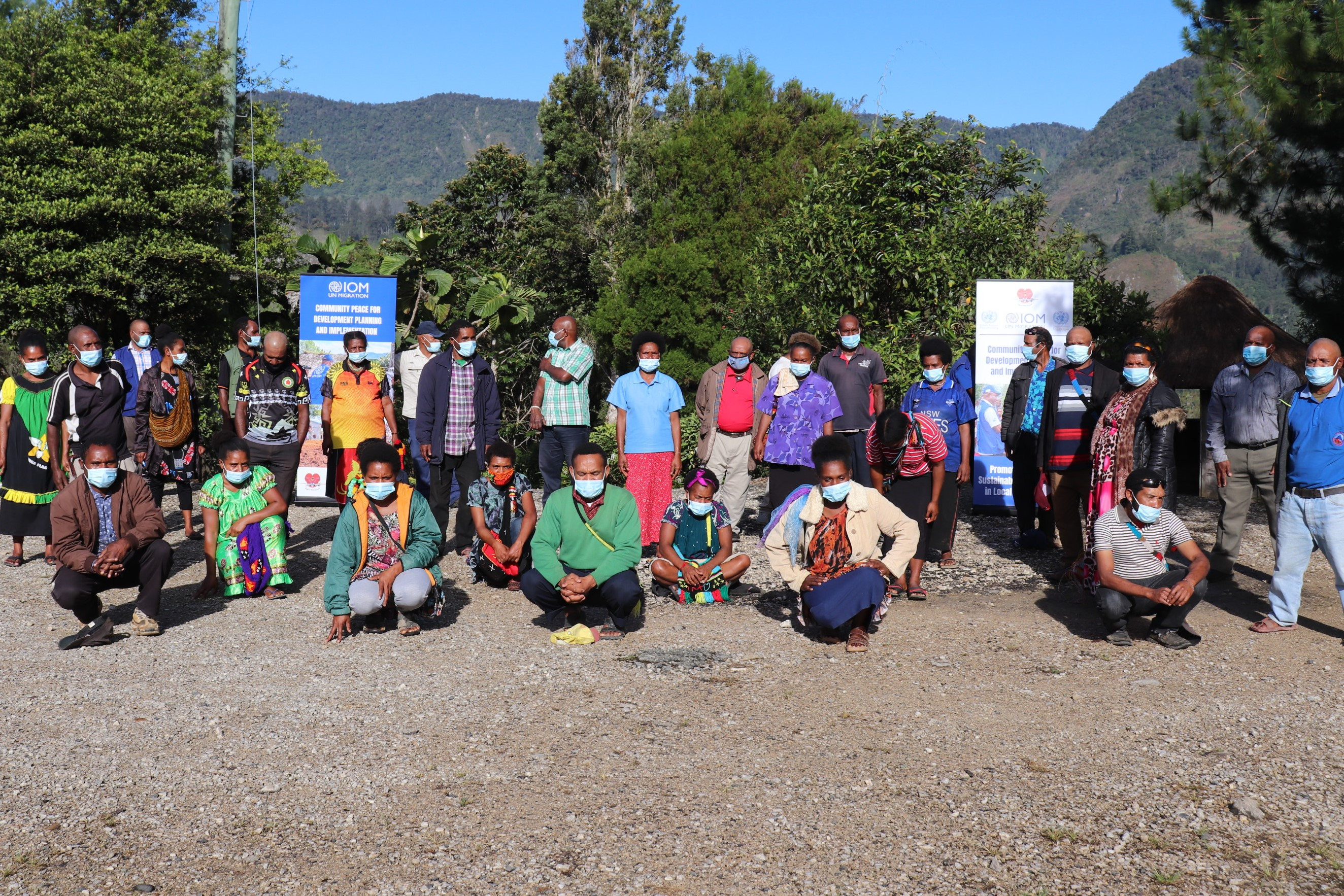 """""""The knowledge gained in this training is essential in fostering peace and unity in our communities"""": IOM Promotes Peace and Development Planning for Hela and Southern Highlands Communities"""