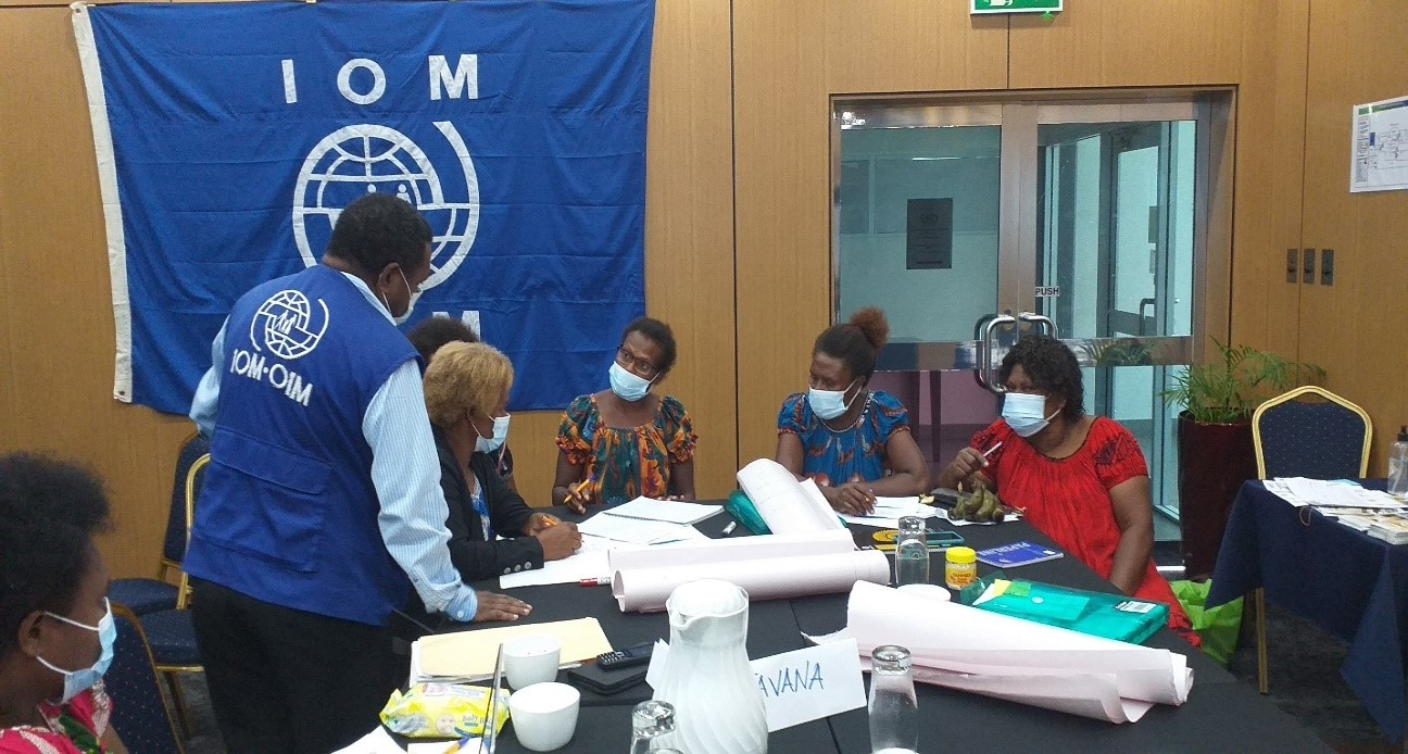 IOM Promotes Disaster Preparedness and Risk Reduction in East New Britain