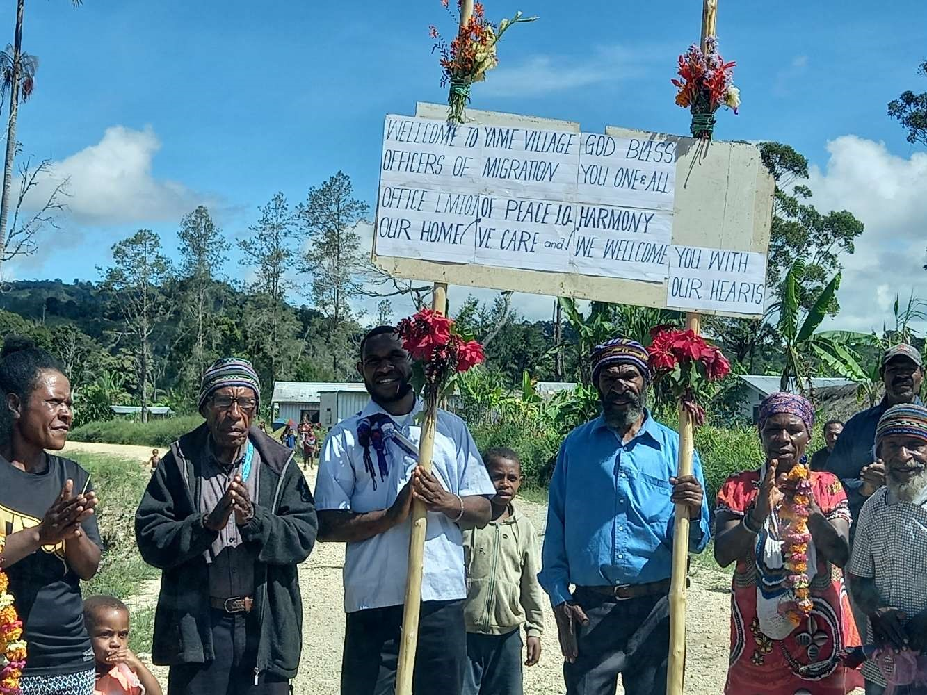 """""""I am now realizing that development starts with me"""": Yame Village in Southern Highlands Welcomes Community Peace for Development and Planning"""