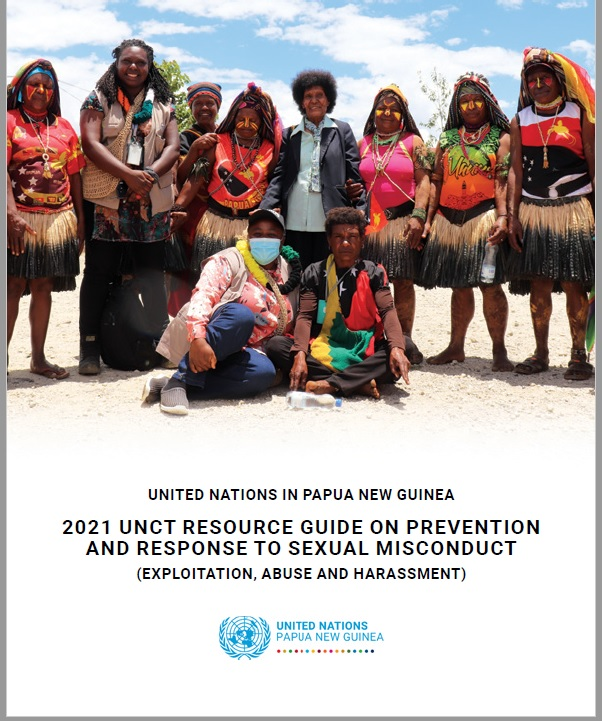 2021 Papua New Guinea Prevention of Sexual Exploitation, Abuse and Harassment (PSEAH) Resource Guide.