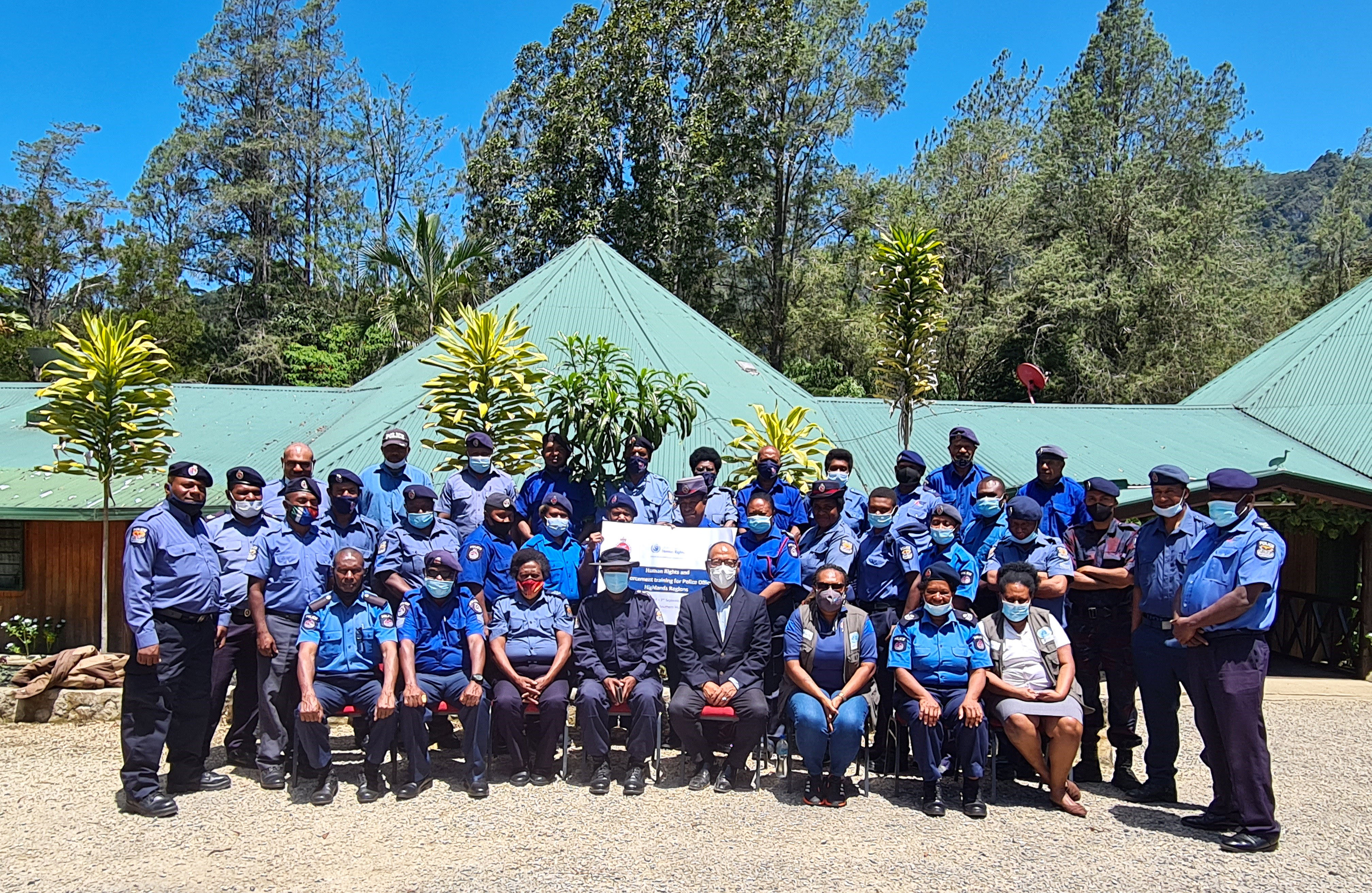 Human Rights Training to RPNGC Police Officers in Mendi, Southern Highlands Province.