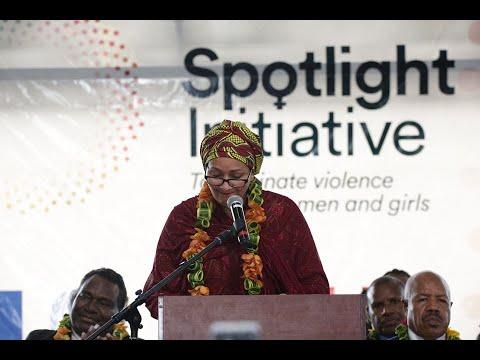 Deputy Secretary-General launch address of Spotlight Initiative in PNG