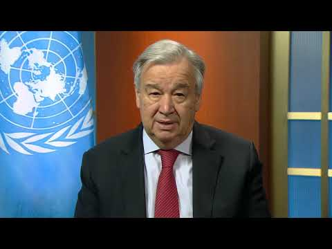 António Guterres (UN Secretary-General) on Gender-Based Violence and COVID-19