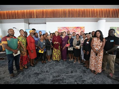 UN75 dialogue with youth in Papua New Guinea